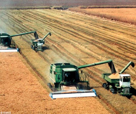 Farm-combine-machines