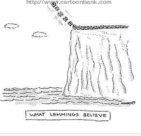 Robert-mankoff-what-lemmings-believe-cartoonbankcom-1230088780485