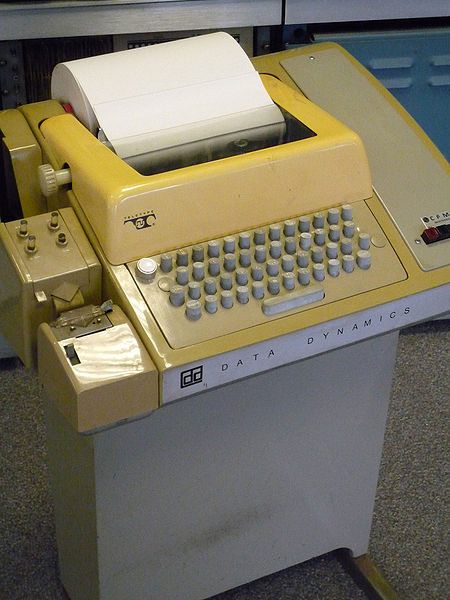 450px-Teletype_with_papertape_punch_and_reader