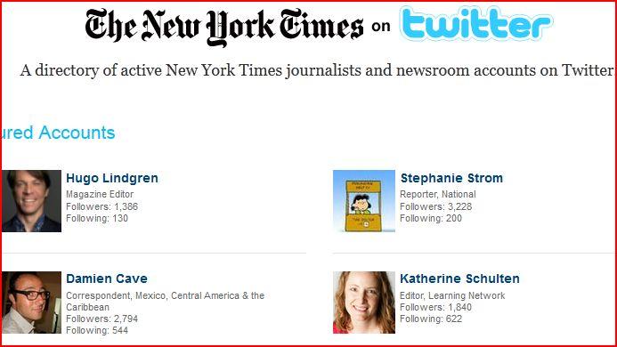 Times editors