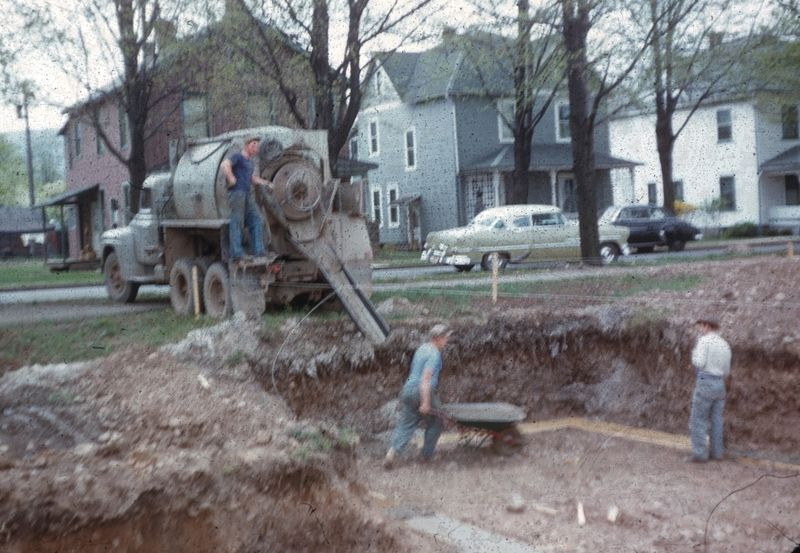 1955 Arch St construction 14s