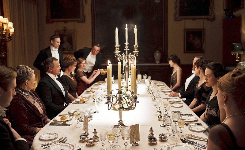 Downton dining