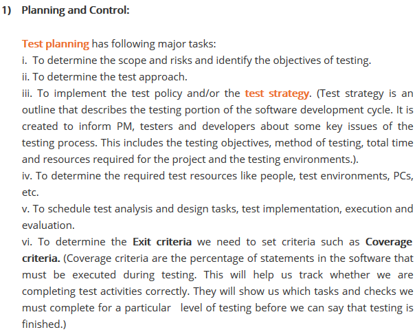 What is fundamental test process in software testing- 2015-10-13 14-22-42