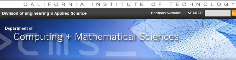 Mathcs caltech
