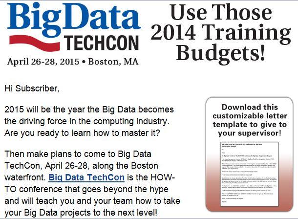 Big Data email