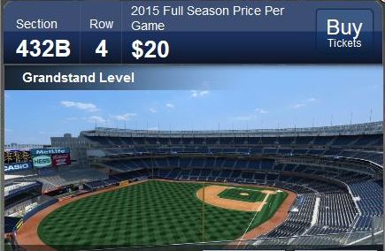 NYY grandstand