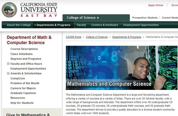 Math and Computer Science in Academia - The Black Liszt