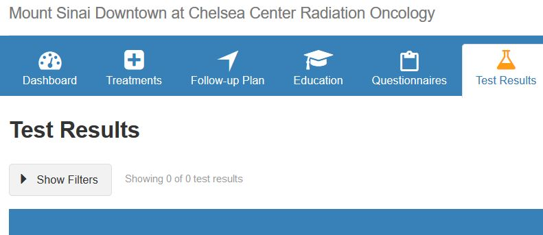 2018 07 31 Radiation center tests