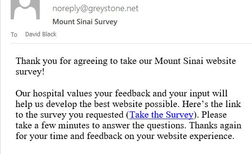 Mount email