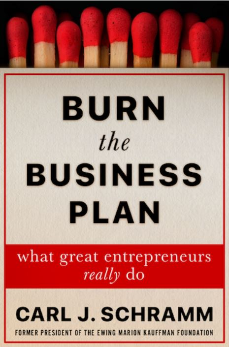 Burn business plan book
